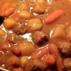 Yummy Meat Ball Stew!