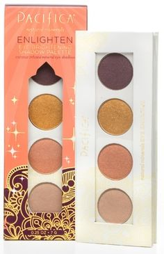 Pacifica Enlighten Eye Brightening Shadow Palette - Coconut Infused Mineral Eye Shadows $19.00 - from Well.ca