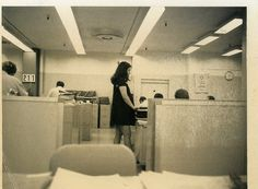 Mom at the Office cApril 1972