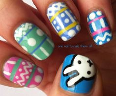 Cute Easter Nail Designs