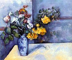 bofransson:    Paul Cezanne -Flowers in a Vase