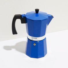 Coffee Maker 9 Cup - Midnight Blue #pantone #espressomaker #cafetera italiana colores
