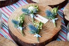 Pin for Later: These 24 DIYs Will Make Your Bohemian Wedding Look So Chic Succulent Corsages Bohemian weddings are the perfect place for plenty of succulents, so add some flare to the groom and groomsmen's corsages with a fun DIY.
