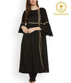 black kurti design plain with dupatta | black kurti design style pakistani | black kurti design Black Cotton Kurti, Black Kameez, Black Dresses, Black Long Kurti, Simple Black Shirt, Fashion Trends Black Cotton Kurti,Black Kameez,Black Dresses,Black Long Kurti,Simple Black Shirt,Fashion Trends,cotton black suit,lawn black kurti,black shirt design for girls,black kurti design cutting and stitching,black kurti design with palazzo,black kurti design with lace,kurti design,black kurti design 2020 - Latest Kurti Design  IMAGES, GIF, ANIMATED GIF, WALLPAPER, STICKER FOR WHATSAPP & FACEBOOK