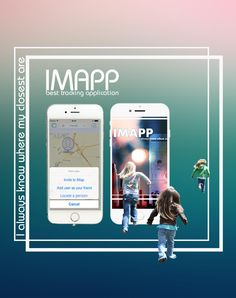 iMapp - find my friends regardless of the installed app, track mobile devices Find My Friends, Track, Ads, Phone, Itunes, Android, Apple, Play, Google