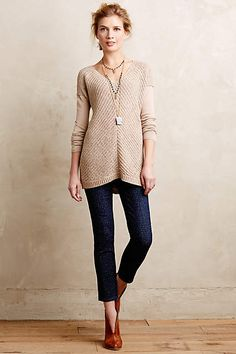 AG Dotted Stevie Ankle Jeans - anthropologie.com