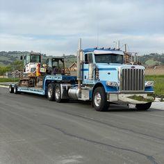 Peterbilt 389, Peterbilt Trucks, Big Rig Trucks, Semi Trucks, Equipment Trailers, Buses, Rigs, Self, Wedges