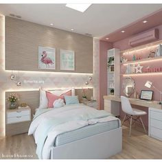 Bed room for girls