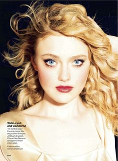 Shes one of my faves.....Dakota Fanning photographed by Ellen von Unwerth for Glamour, March 2013