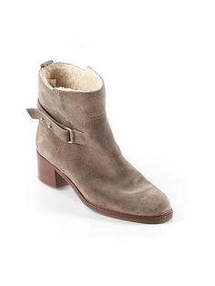 J. Crew shearling-lined booties. Cozy!