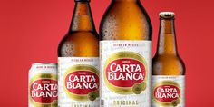 Image result for Carte Blanc Beer from Mexico Mexican Beer, Beer Bottle, Cocktails, Shots, Mexico, Image, Heineken, Ale, Craft Cocktails