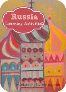 Russia Learning Activities - a book list, art projects, and other learning activities related to Russia. Just in time for the winter Olympics.