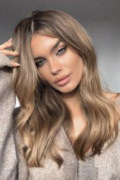 Brown Hair Balayage, Brown Blonde Hair, Light Brown Hair, Light Hair, Balayage Hair Colour, Blonde Brunette Hair, Dark Blonde Hair With Highlights, Medium Blonde Hair Color, Beige Hair