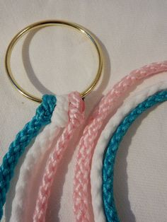 Cord of Three Strands Divinity Braided Cord with by DivinityBraid