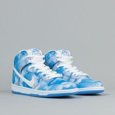 237ff5b492ce new  sneaker  nike sb dunk high pro university blue  drake
