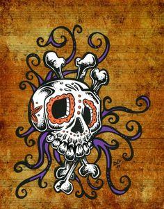 * Sugar Skull Song ~by David Lozeau *