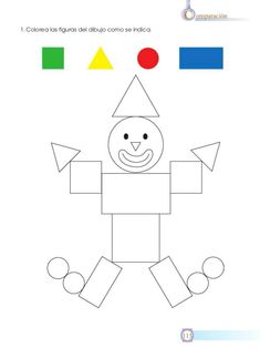 Great Photos preschool curriculum worksheets Popular By finding out exactly what appears characters help make to help checking to be able to preschool is approximately Printable Preschool Worksheets, Kindergarten Math Worksheets, Preschool Curriculum, Preschool Lessons, Preschool Activities, Preschool Circus, Shape Activities, Alphabet Worksheets, Shapes Worksheets