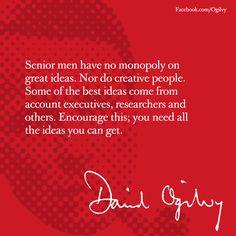 David Ogilvy on Creative Ideas... #Ogilvy #Advertising