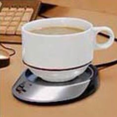 19 Really Cool Gadgets for Your Office or Cubicle Really Cool Gadgets, Desk Gadgets, Winter Survival, Work Tools, Desk Organization, Home Office Decor, Hot Chocolate, Usb, Cool Stuff