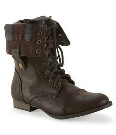 Foldover Combat Boot from Aeropostale