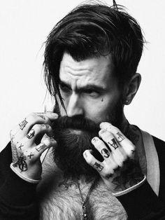 beards and tattoos = nice