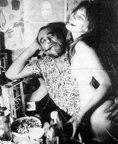 Charles and Linda Bukowski in fun...