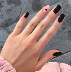 Edgy Nails, Grunge Nails, Hot Nails, Stylish Nails, Trendy Nails, Swag Nails, Hair And Nails, Edgy Nail Art, Black Gel Nails