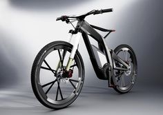 now, this is a bike. an e-bike. an e-bike from Audi.
