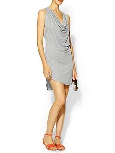 Riller & Fount Britney Draped Front Fitted Mini Dress | Piperlime