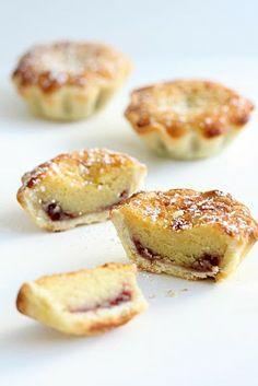 Raspberry Bakewell Tartelettes