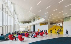 James B. Library at North Carolina State University Raleigh / Clark Nexsen + Snøhetta. Raleigh Apartments, North Carolina Colleges, Nc State University, Main Library, Facility Management, Excellence Award, Home Ceiling, Modern Exterior, Historia