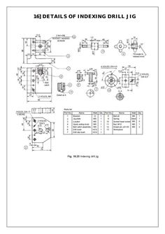 machine drawing assembly and details pdf