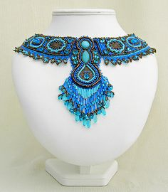 Turquoise Collar by betty.stephan, via Flickr