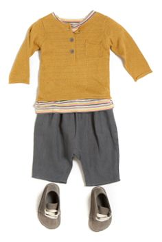 Something I would have loved to put on my son when he was little. He picks his own outfits now, and they don't look like this.