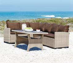 JUELSMINDE garden lounge set -  Take me to a beach and leave me on this lounge set please