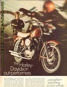1969 Harley Davidson Sportster Ad