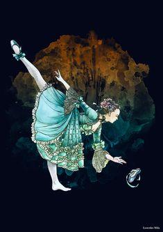"- Cinderella - by *Losenko on deviantART (On my NEW board""Dancing in Other Arts 2"". Irit Volgel"")."