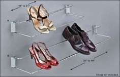 Wall-Mount Shoe Racks - Hardware