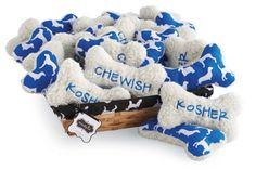 Hanukkah Dog Toy