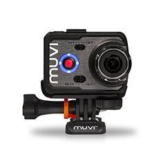 Veho Muvi K-Series K-1 | 1080p | HD | WiFi | Camcorder | Action Camera | Sports Camera | Action Cam | 12MP Camera (VCC-006-K1)
