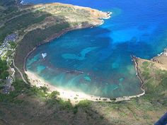 Hanauma Bay, Oahu, Hawaii.    When we go back to the Islands, we hope to go to Oahu then on to Maui.  I would love to retire there.  I see the  Lord in all its beauty!