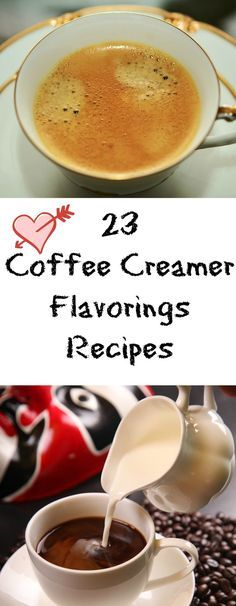 23 Coffee Creamer Flavorings Recipes