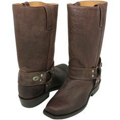 Green Bay Packers Men's Gridiron Harness Boots - Brown