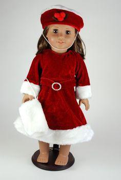 Similar to the 'White Christmas' santa dresses