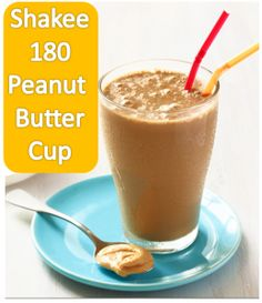 Shaklee 180 Peanut Butter Cup: only 293 calories! Lots of other healthy recipes on this blog: http://naturalhealthsolutionz.com/diet-smoothies-recipes-shaklee-180/