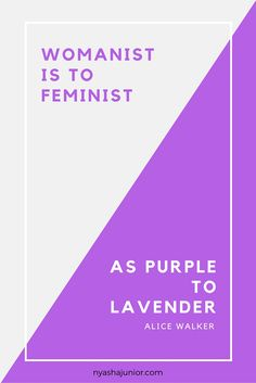 Essay on feminism and womanism
