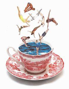 darksilenceinsuburbia:    Lynn Skordal. Summer in a Teacup.