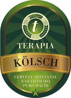 Cerveja Chopp Terapia Kolsch, estilo Kölsch, produzida por  Cervejaria Caseira…