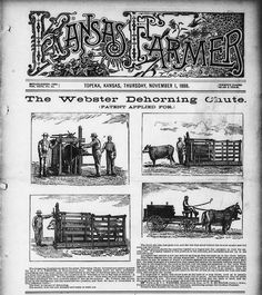 A front-page illustrated ad in the Kansas Farmer newspaper showing an invention by my great-grandfather, Ebenezer Perry Carlisle Webster. Frame Stand, The Last Picture Show, Family History, Just Go, Genealogy, Inventions, About Me Blog