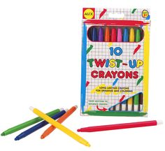Twist Up Crayons